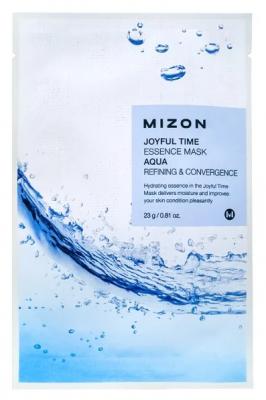 Тканевая маска с морской водой MIZON Joyful Time Essence Mask Aqua 23г: фото