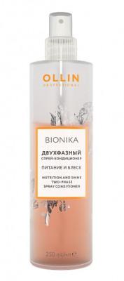 Кондиционер-спрей двухфазный OLLIN BioNika Two-Phase Spray-Conditioner 250мл: фото
