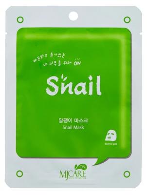 Маска тканевая улиточная Mijin MJ on Snail mask pack 22г: фото