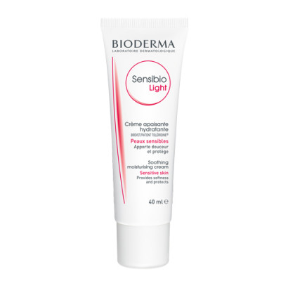 Крем для нормальной и смешанной чувствительной кожи Bioderma Sensibio Light 40 мл: фото