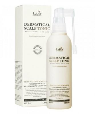 Тоник для кожи головы против выпадения волос La'dor Dermatical Scalp Tonic 120мл: фото