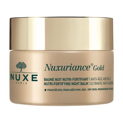 Питательный укрепляющий антивозрастной ночной бальзам для лица Nuxe Nuxuriance Gold 50 мл: фото
