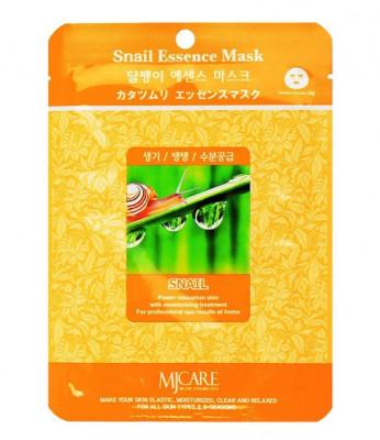 Маска тканевая Улитка Mijin Snail Essence Mask 23г: фото