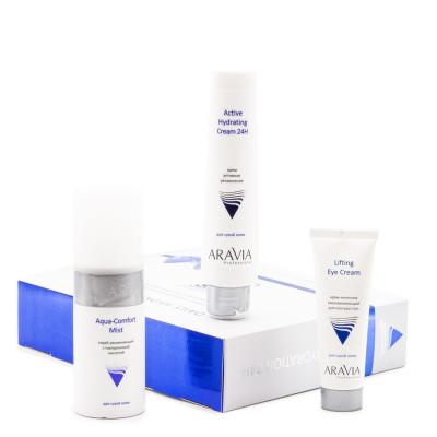 Набор для глубокого увлажнения кожи ARAVIA Professional Daily Hydration 24H: фото