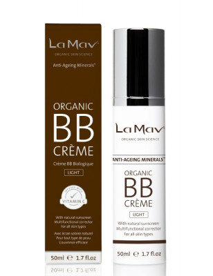 Антиэйдж BB крем La Mav Certified Organic BB Creme Light 50 мл: фото