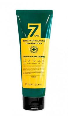 Пенка очищающая для проблемной кожи May island 7 Days Secret Centella Cica Cleansing Foam 150мл: фото