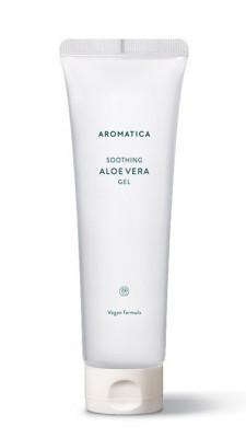 Органический увлажняющий гель алоэ вера AROMATICA 95% Organic Aloe Vera Gel 180мл: фото