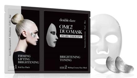 Двухкомпонентный комплекс из маски и патчей Double Dare OMG! DUO СИЯНИЕ и ТОНИЗИРОВАНИЕ: фото