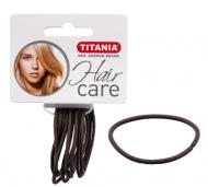 Резинки для волос Titania 3см серые 12шт: фото