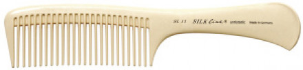 Расческа силикононовая с ручкой HERCULES SL11: фото
