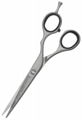 Ножницы прямые эргономичные с микронасечкой Kiepe Studio Techno 5.5: фото