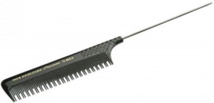 Расчёска с металлическим хвостиком для начеса HERCULES 190 R 21,7см: фото