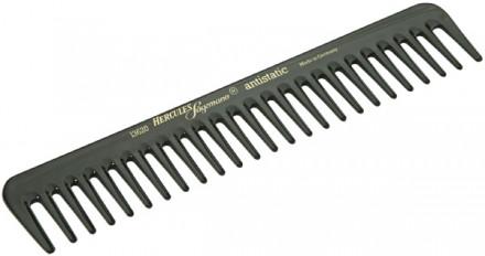Расчёска каучуковая с редкими зубчиками HERCULES 13620 18,8см: фото