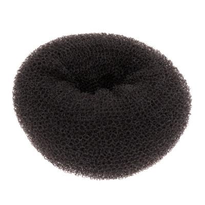 Подкладка-кольцо для причесок Harizma Professional 11,5см брюнет: фото