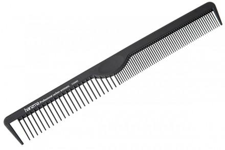 Расческа для стрижки и укладки Harizma Professional Carbon Antistatic 21см: фото