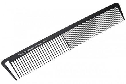 Расческа для стрижки широкая Harizma Professional Carbon Antistatic 21,5см: фото