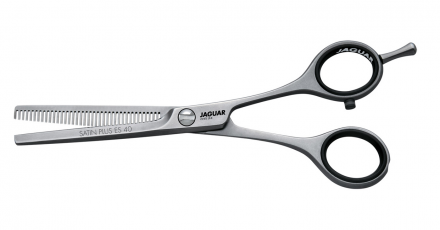 Ножницы филировочные (40 зубцов) Jaguar White Line Satin Plus ES 40 5.0″ 13см: фото